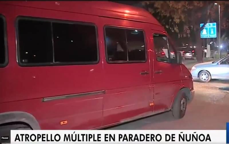 El conductor iba en esta camioneta.