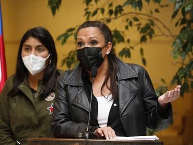 Marisela Santibáñez sufre accidente de tránsito tras chocar con motorista