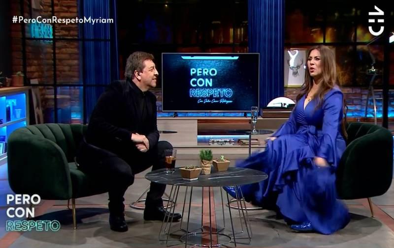 Myriam Hernández en Pero con respeto.