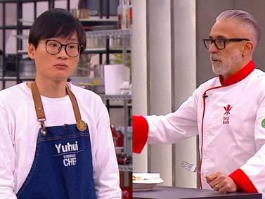 """Yuhui protagoniza tenso momento en El Discípulo del Chef: """"Me cae mal, es muy pesado conmigo"""""""