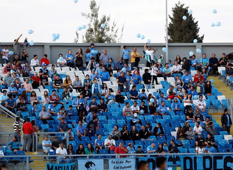 El Teniente de Rancagua iba a ser el primer estadio en contar con el retorno de los hinchas