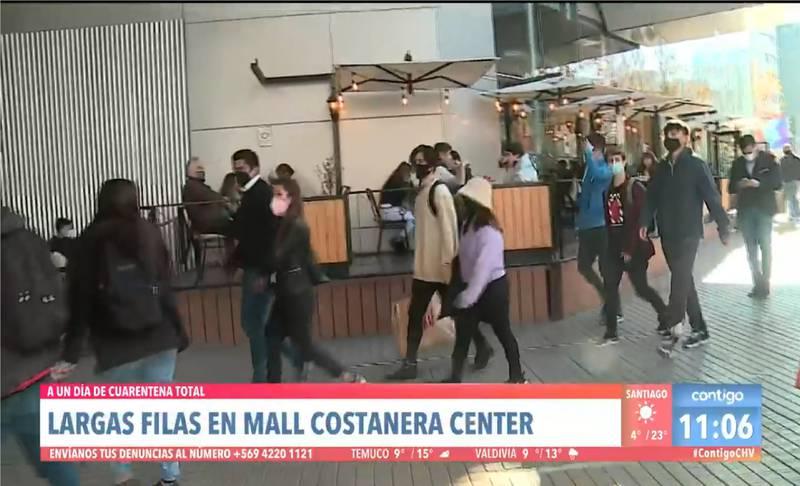 Palo al Costanera Center