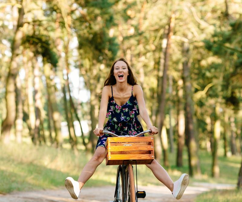 Emprendedores en bicicleta