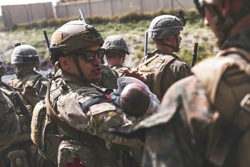 Afganistan soldados niños