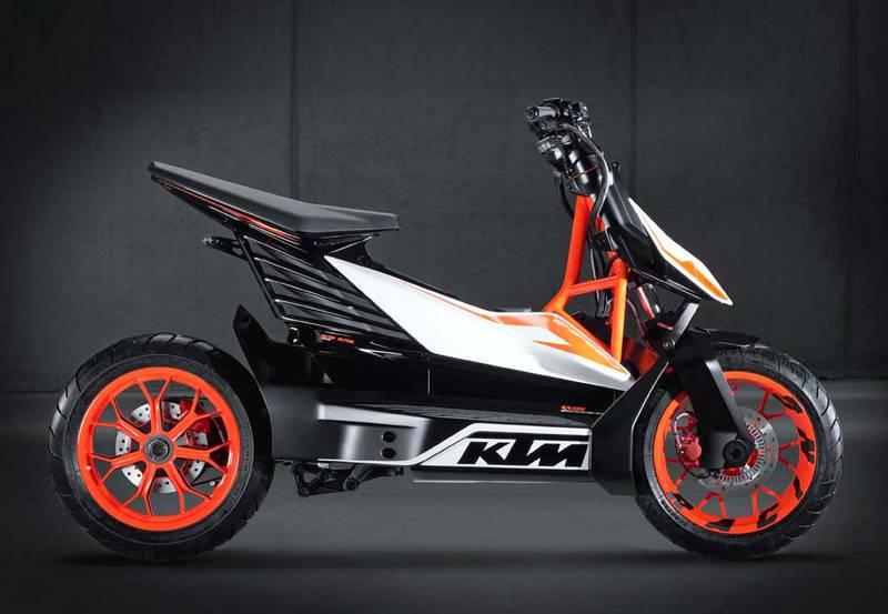 KTM Scooter eléctrico 2022