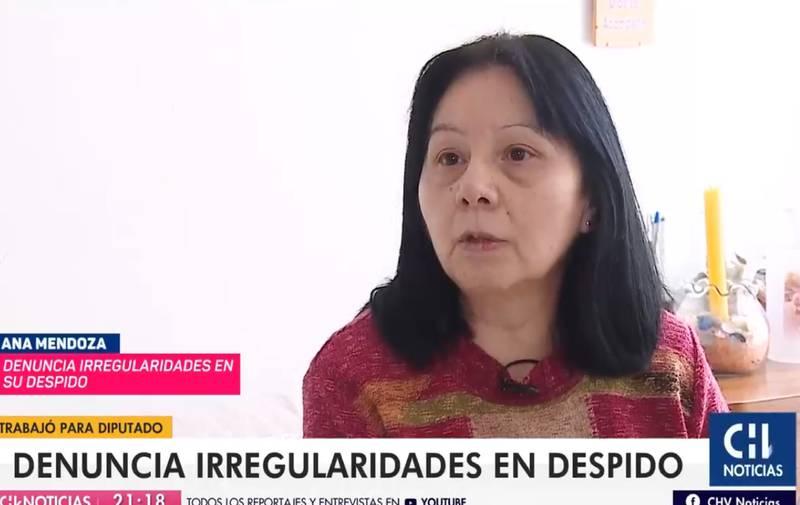 La mujer denunció su problema con la esposa del diputado.