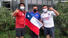 La Roja llega al Estadio Nacional de Lima con gran apoyo de hinchas chilenos