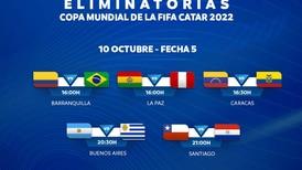 Chile-Paraguay cierran otra jornada crucial de las Clasificatorias: Argentina-Uruguay protagonizan un clásico en la cartelera