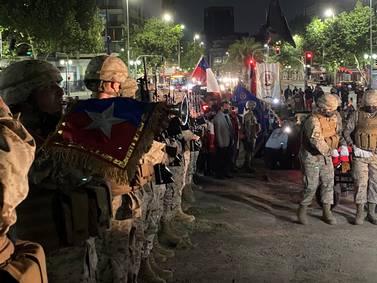 Ejército retiró el ataúd del soldado desconocido que estaba en Baquedano