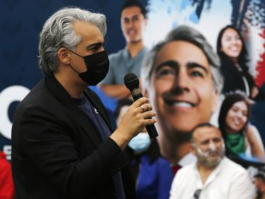 "Marco Enríquez-Ominami a Gabriel Boric: ""No está preparado para ser Presidente"""