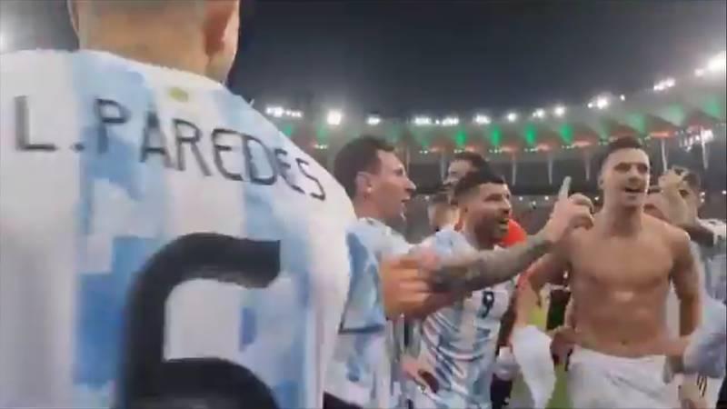 """El """"No"""" de Messi"""
