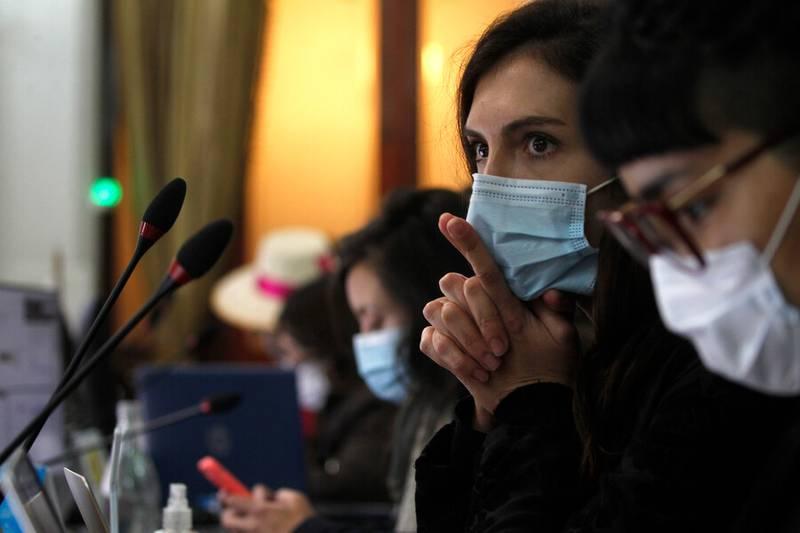 La comisión escuchó los argumentos de Bárbara Sepúlveda.