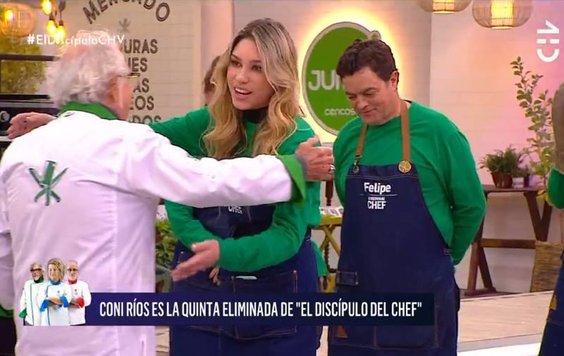 Constanza Ríos fue eliminada.