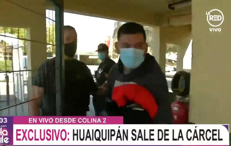 Francisco Hauiquipan sale de la carcel