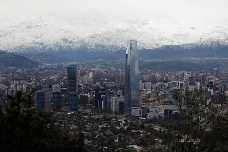 Lluvia sobre Santiago la próxima semana.