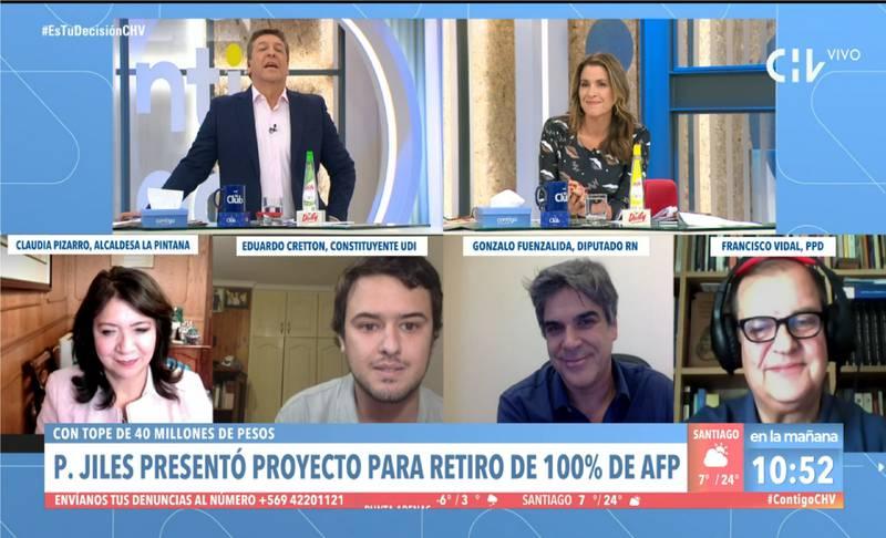 Julio Cesar este miércoles en Contigo en la Mañana.