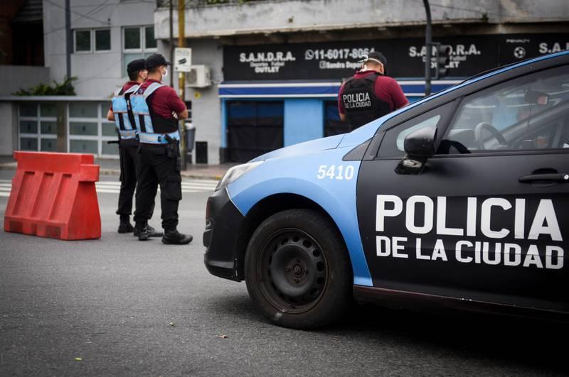 Policia Buenos Aires Argentina