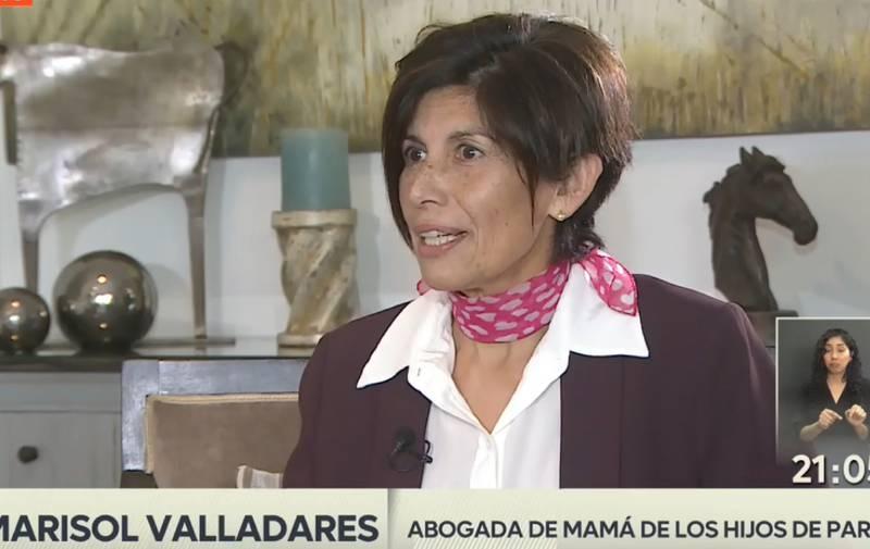 La abogada Marisol Valladares.