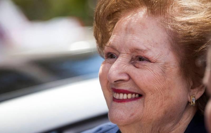 La nieta de Lucía Hiriart informó su estado.