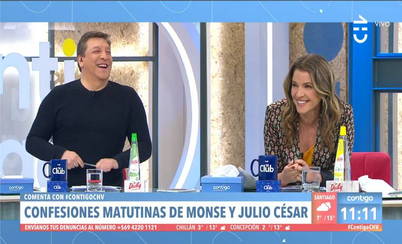 Julio Cesar y Monserrat Alvarez
