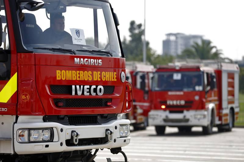 bomberos accidente