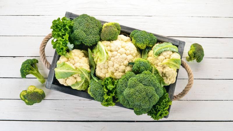 Coliflor y brócoli