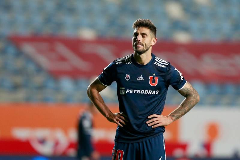 Universidad de Chile empató con un gol de Joaquín Larrivey