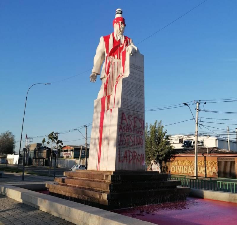 Monumento de Salvador Allende en San Joaquín