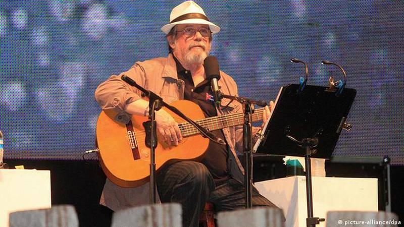 Silvio Rodriguez, músico cubano.