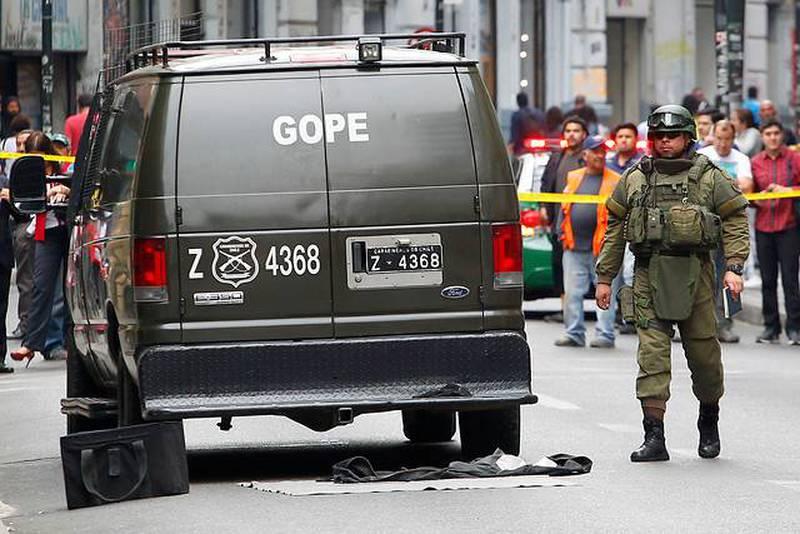 Aviso de bomba en Recoleta.