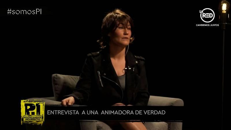 La entrevistada de PI.