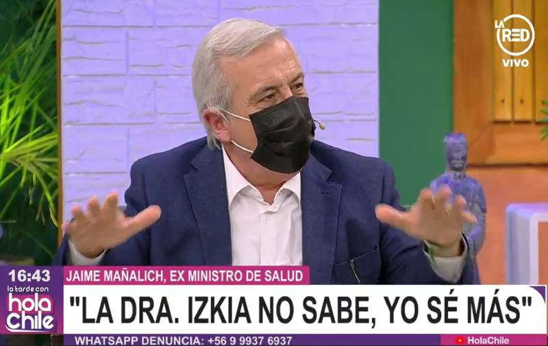 Jaime Mañalich en La Red