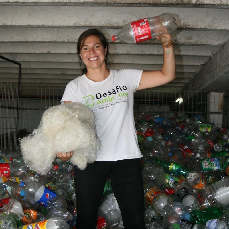 Desafío Ambiente, fábrica de plástico reciclado liderado por mujeres