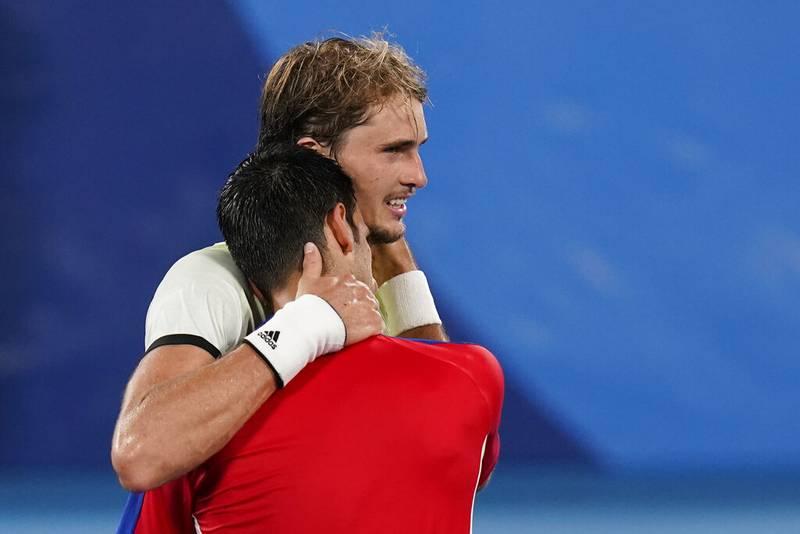 Zverev y Djokovic
